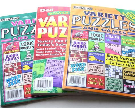 puzzle books crossword puzzle book get well gift idea