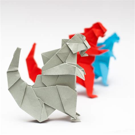 how to make an origami godzilla การพ บกระดาษเป นร ปก อตซ ลล า origami godzilla