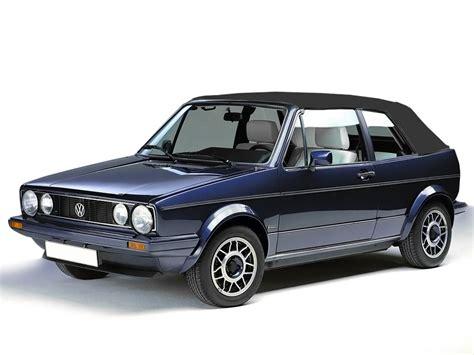 Volkswagen Cabriolet Convertible by Vw Cabrio Golf 1980 1993 Black Convertible Soft Top