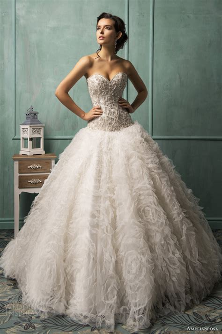 wedding gown ameliasposa 2014 wedding dresses wedding inspirasi