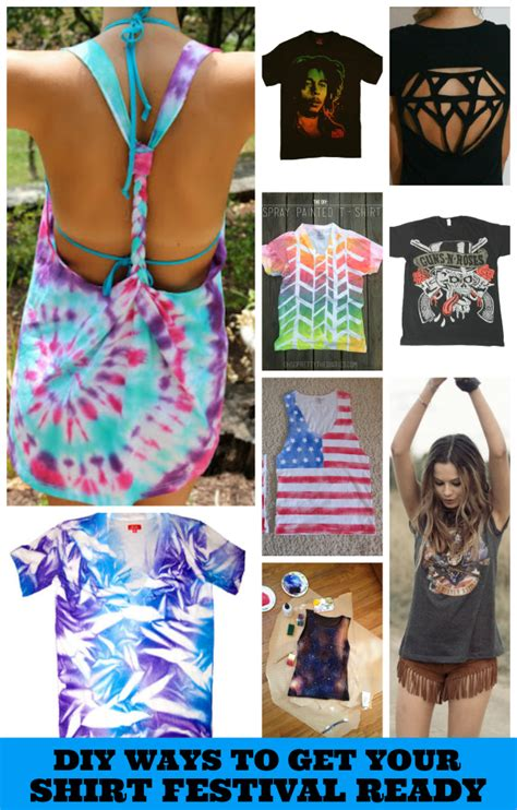 t shirt crafts for how to get your t shirt ready for summer festivals