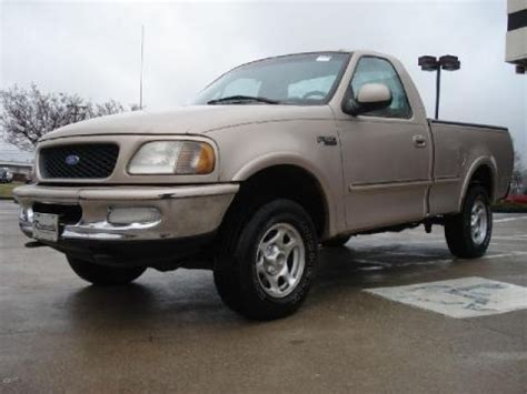 1997 Ford F150 Specs by 1997 Ford F150 Xlt Regular Cab 4x4 Data Info And Specs