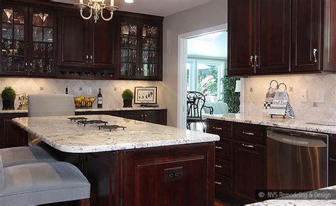 kitchen cabinets and backsplash brown kitchen cabinets backsplash idea backsplash