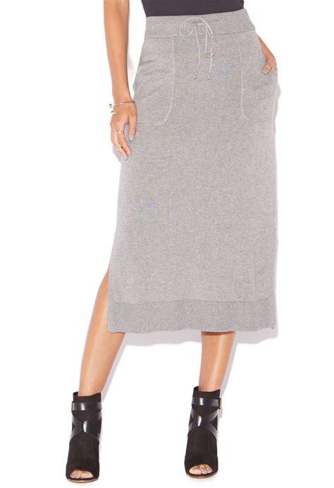 knit midi skirt sweater knit midi skirt shoedazzle