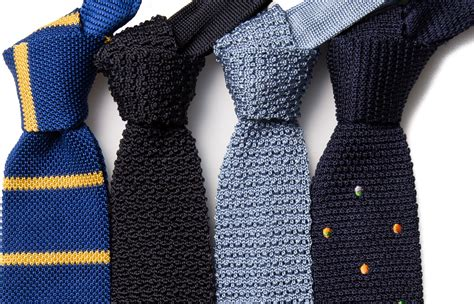 how to wear knit ties the knitted tie of many