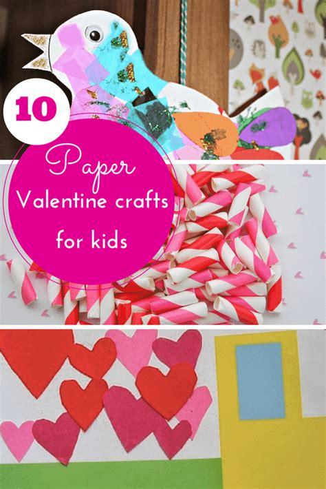paper valentines crafts 10 pretty paper crafts for