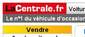Voiture d'occasion France , auto, pas cher » » La Centrale