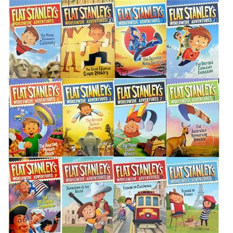 flat stanley picture book the is a bookworm 10 chapter book series for