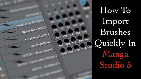 brushes for studio 5 how to quickly import brushes into studio 5