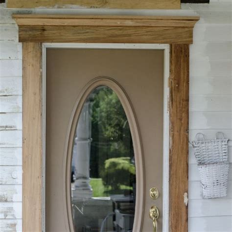 exterior door trim ideas exterior door trim adds curb appeal hometalk