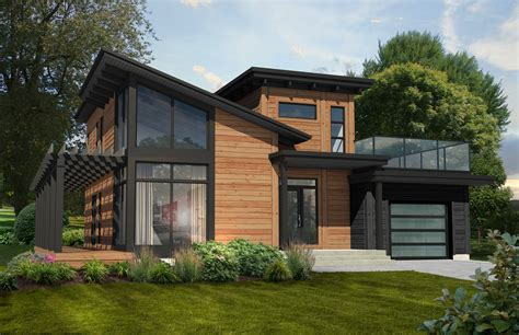 modern house plan the monterey wins favorite contemporary home plan timber block