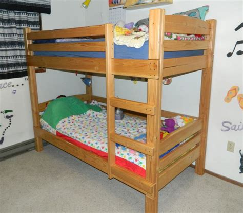 bunked bed bunk bed
