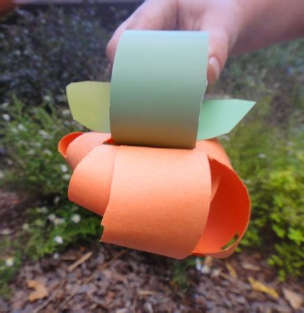 construction paper pumpkin crafts construction paper pumpkin craft