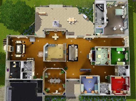 sims 3 4 bedroom house design image result for sims 3 house blueprints 4 bedrooms sims