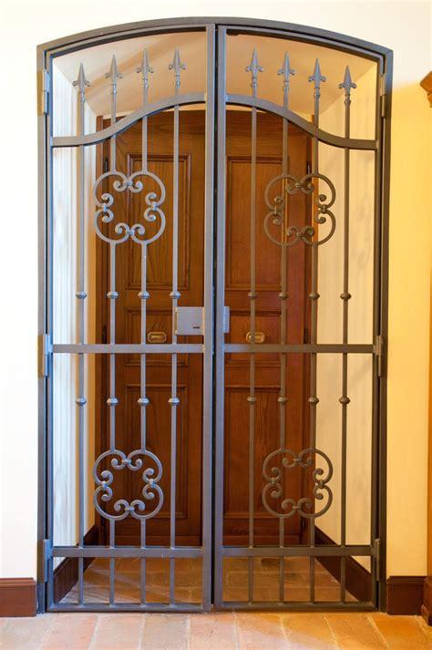security gate for front door best 20 iron front door ideas on