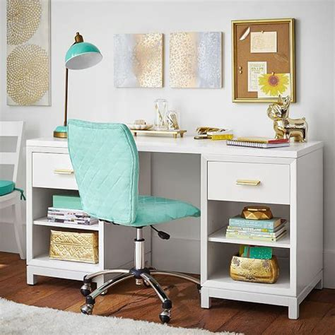 bedroom desks white rowan cubby storage desk