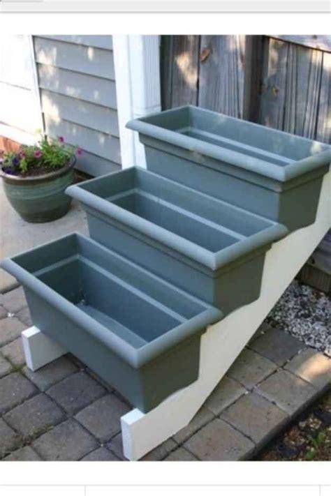 cheap planter boxes diy planter box ideas woodworking projects plans