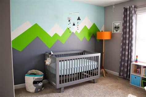 Woodland Wall Mural inspiracje pok 243 j niemowl cy i dzieci cy dla ch opca