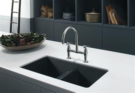 black undermount kitchen sinks composite kitchen sinks kblack and white kitchen themed