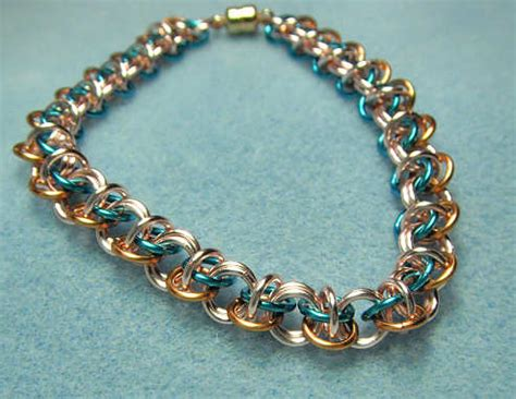 how to make jewelry chain chain maille jewelry patterns