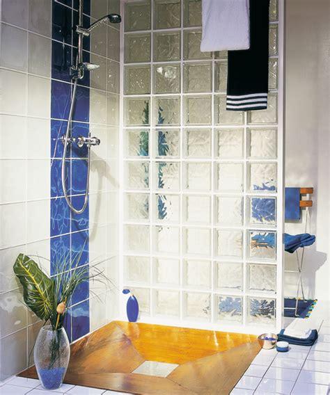 briques de verre salle de bain salle de bain