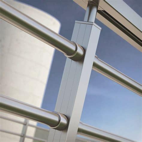 barandilla de aluminio barandilla barrotes redondos aluminio inox barandillas
