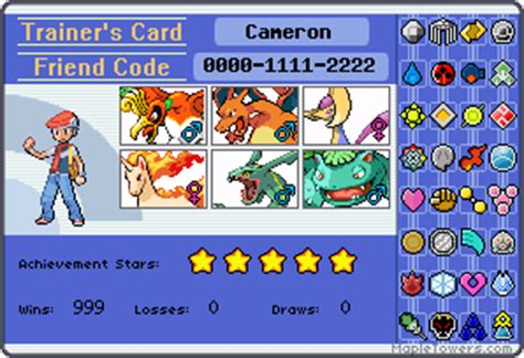 make your trainer card s cool trainer card