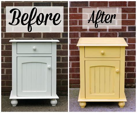 shabby chic spray paint colors diy shabby chic nightstand makeover spray paint tips