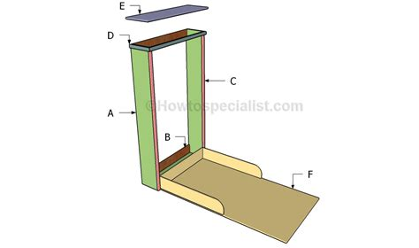 murphy bed woodworking plans murphy bed plans howtospecialist how to build step by