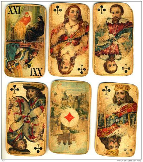 how to make vintage cards 62 antique cards b dondorf 62 carte da gioco come