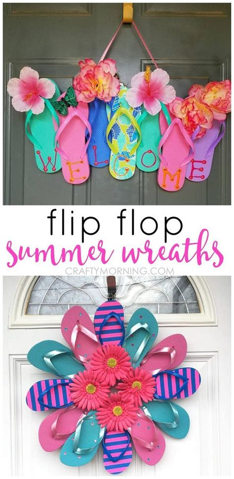 best craft ideas for best 25 flip flop decorations ideas only on