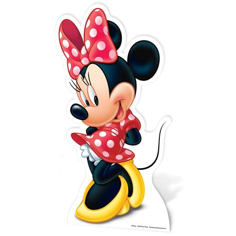 minnie mouse minnie mouse large cardboard cut out new 100 official ebay