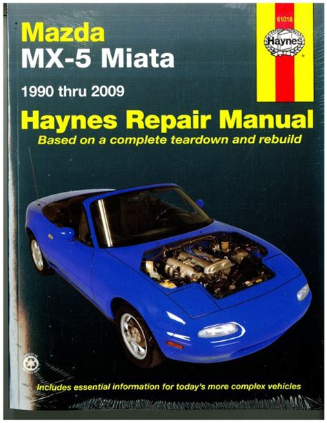service manual hayes car manuals 2004 mazda mx 5 security system used 2004 mazda mx 5 1 8 i haynes mazda mx 5 miata 1990 2009 auto repair manual
