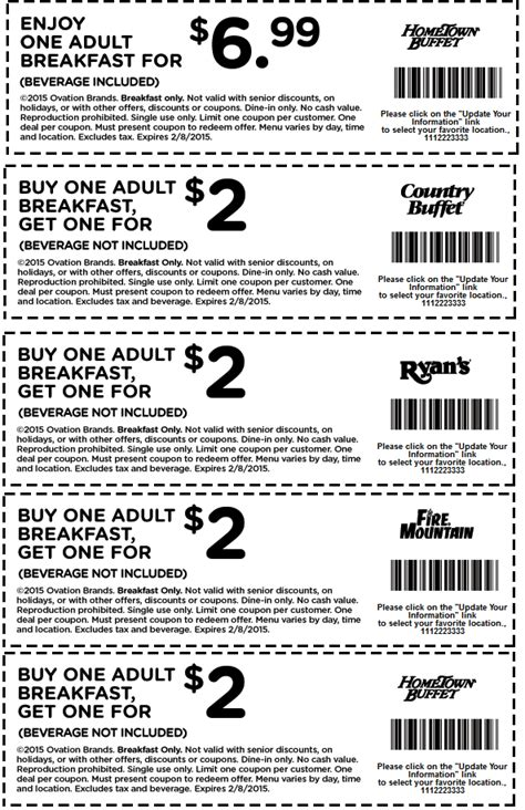 hometown buffet dinner coupons hometown buffet coupon it up grill