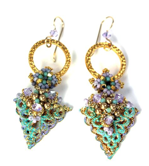 beading earrings maddesigns i m beading