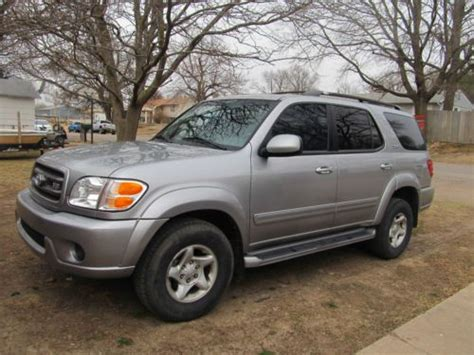 how things work cars 2001 toyota sequoia parking system buy used 2001 toyota sequoia sr5 sport utility 4 door 4 7l in united states