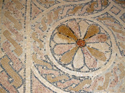 file masada byzantine church floor mosaic by david shankbone jpg wikipedia