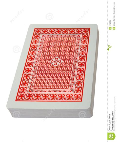 how to make a card deck deck of cards stock image image 2372891