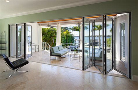 folding glass doors for patio folding patio doors nanawall