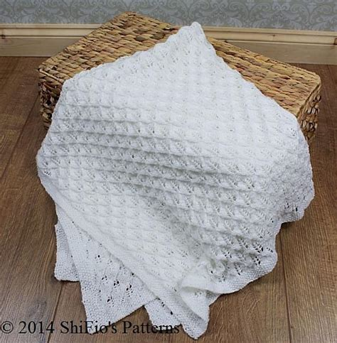 knitting patterns for baby blankets and shawls 293 baby square shawl blanket afghan knitting pattern 293