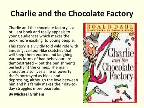 pictures of and the chocolate factory book basic essay writing guidelines of