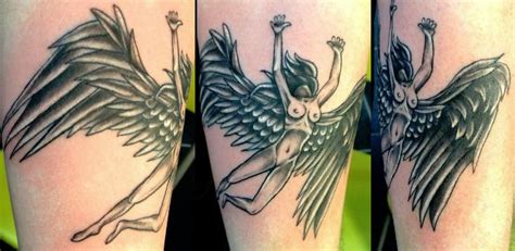 female led zeppelin tattoo by aireelle on deviantart