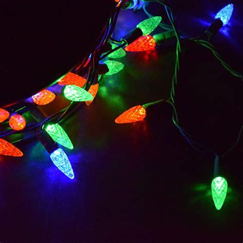 colored string lights multi colored led string lights c6 210 lights