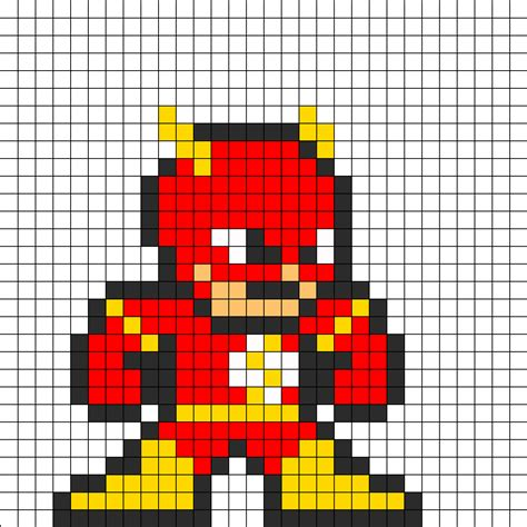 how do you use perler flash perler bead pattern by groundhog7s on kandi patterns