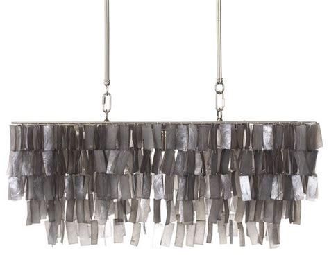 capiz rectangular chandelier large rectangle hanging capiz pendant gray contemporary