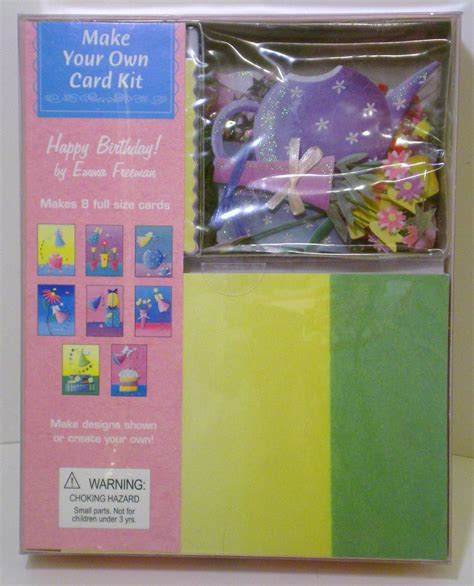 make your own card kits make your own card kit happy birthday freeman
