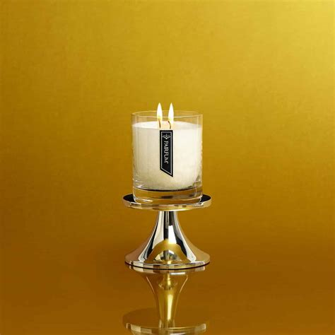 Candle Pedestal by Silver Candle Holder Pedestal For Luxury Scented Candles