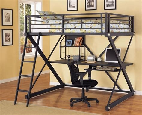 metal bunk bed with desk metal bunk bed with desk underneath metal loft bed with