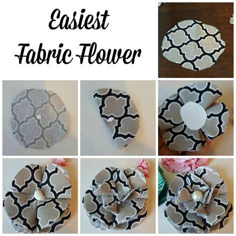 fabric craft projects craft easy fabric flower tutorial bradford