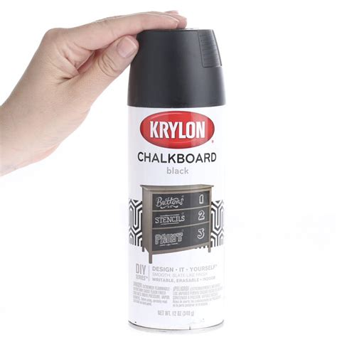 chalkboard paint spray black chalkboard spray paint mediums and finishes